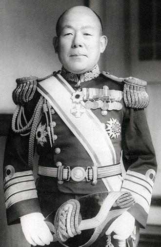 Masaichi Niimi - Admiral Masaichi Niimi