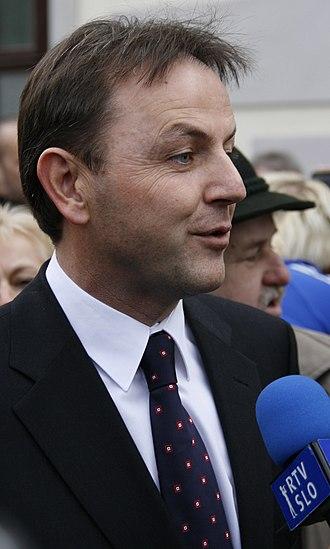 Nikolaus Berlakovich - Nikolaus Berlakovich, 2 December 2008.