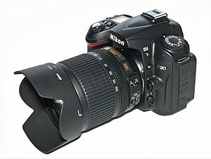 Nikon D90 Digital SLR Camera with AF-S DX 18-1...