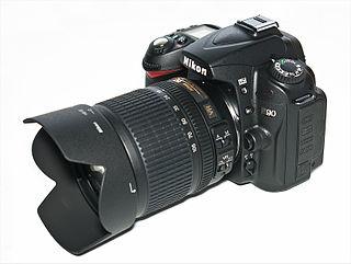 Nikon D90 Digital single-lens reflex camera