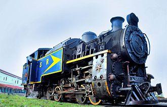 Nilgiri Mountain Railway - An X Class Steam Locomotive