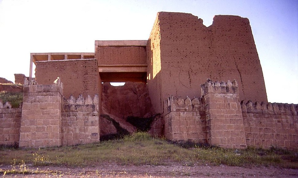 Nineveh Adad gate exterior entrance far2