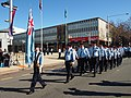 No 28 Squadron RAAF Freedom of the City Parade passing Civic Square August 2013.jpg