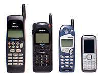 {{esEvolución de tamaño de los teléfonos móvi...