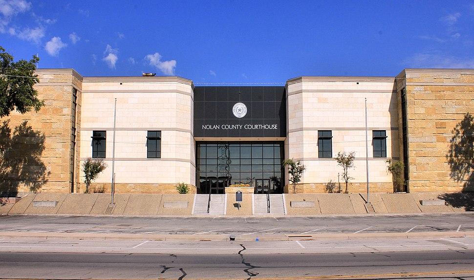 Nolan County Texas Courthouse 2015