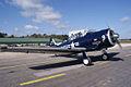 North American SNJ-4 Texan VMF-231 RSideFront TICO 13March2010 (14619569733).jpg