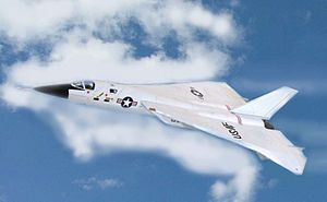 Aerospace Defense Command - Artist's impression of the North American XF-108 Rapier