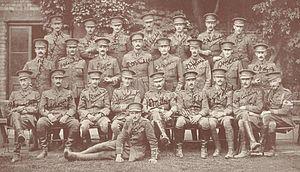 North Staffs 1 Bn officers 1914
