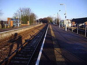 North Walsham railway station - Image: North Walsham Railway Station 12 Jan 2008 (1)