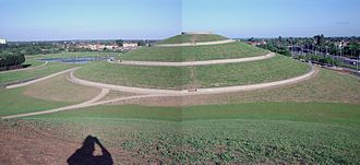 Northala Fields - The highest of the four hills in Northala Fields
