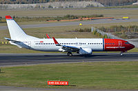 EI-FHK - B738 - Norwegian Air International