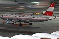 OE-LBP - A320 - Austrian Airlines