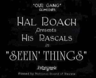 <i>Seein Things</i> 1924 film by Robert F. McGowan