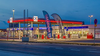 Kuwait Petroleum Corporation - An OKQ8 petrol station in Hedemora, Sweden