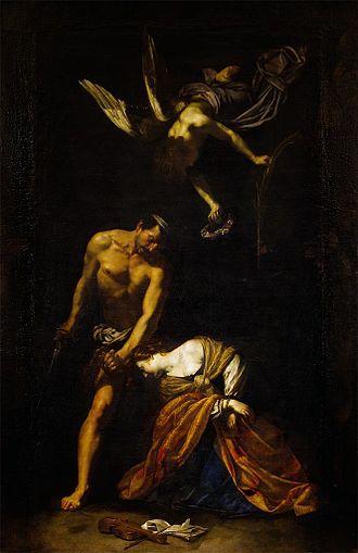 Orazio Riminaldi - Image: O Riminaldi Martirio de Santa Cecilia 1630 P Pitti