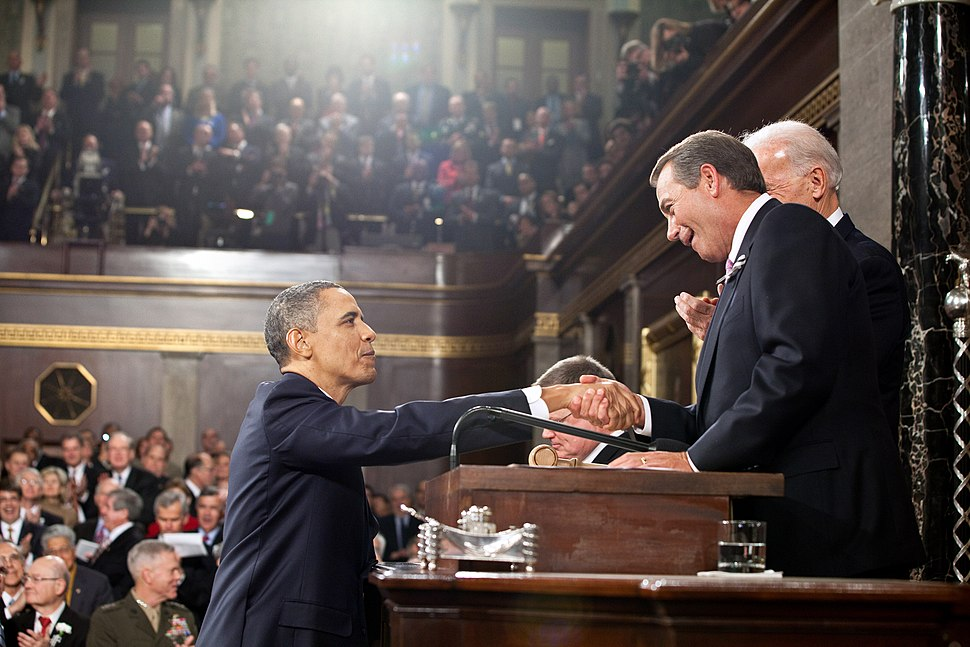Obama Boehner State of the Union 2011