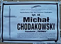 Obituary of Michał Chodakowski in Sanok 1.jpg
