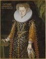 Okänd kvinna, tidigare kallad Elisabet, 1549-1597, prinsessa av Sverige, hertiginna av Mecklenburg - Nationalmuseum - 15098.tif
