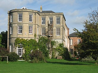 East Bergholt - Old Hall, south facade