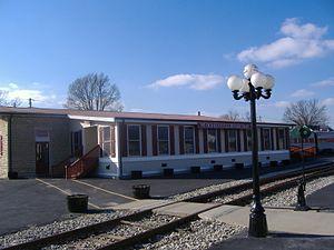 Old L & N Station - North side of station