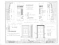 Old Masonic Hall, Monroe and East Hobbs Streets, Athens, Limestone County, AL HABS ALA,42-ATH,3- (sheet 3 of 4).png