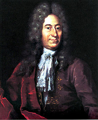 Ole Rømer - Ole Rømer, portrait by Jacob Coning from c. 1700