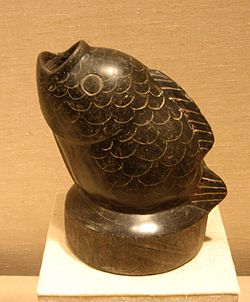 Fish Vessel, 12th–9th century BCE.Height: 6.5 inches (16.5 cm).