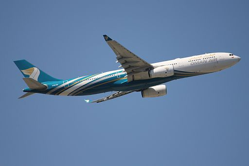 Oman Air A333 A4O-DD