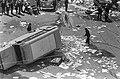 Onlusten in Amsterdam, ravage bij Telegraafgebouw, Bestanddeelnr 919-2515.jpg