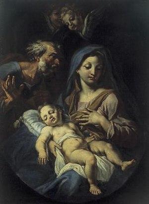 Onofrio Avellino - The Holy Family