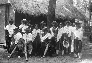 Culture of Madagascar - Valiha orchestra at the Paris World Exposition of 1931