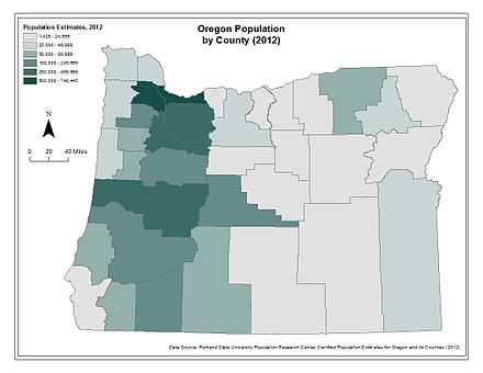 Oregon population by county using 2012 estimates OregonPop12.jpg