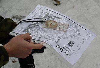Orienteering map - Orienteering map