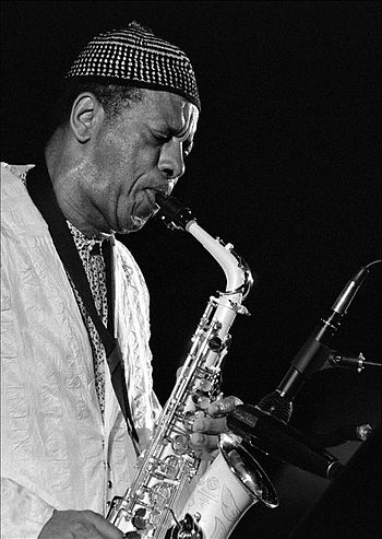English: American jazz saxophonist Ornette Coleman