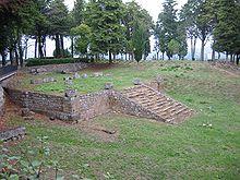 Resti del tempio etrusco del Belvedere, Orvieto