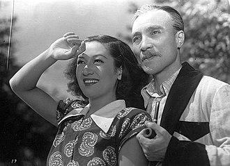Osamu Takizawa - In A Ball at the Anjo House  (1947) with Setsuko Hara