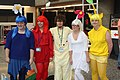 Otakuthon 2014- Olimar and his Pikmin harem (14843007360).jpg