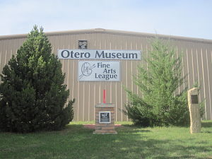 Otero County, Colorado - Otero Museum and Fine Arts League in La Junta