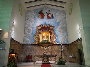 Our Lady of Guidance - The image enshrined above the high altar.