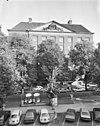 overzicht uit huis aan begijnhof - amsterdam - 20014521 - rce