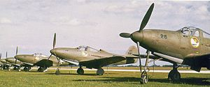 31st Operations Group - P-39Ds of the 31st PG at Selfridge Field in 1941