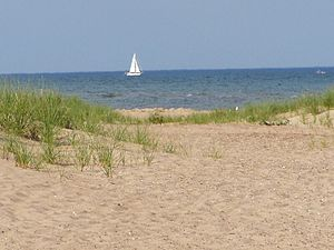 Lake Huron - Image: P7050019 Tawas Point SP (E Tawas Mich)