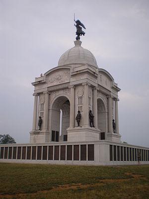 Gettysburg Battlefield - Image: P Amonument Gettysburg