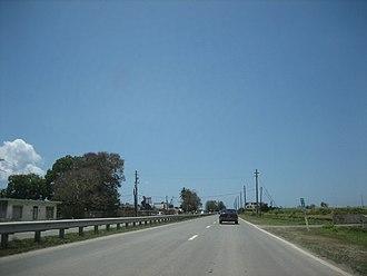 Puerto Rico Highway 3 - PR-3 in Arroyo near Guayama