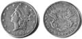 PSM V53 D626 Clark gruber denver twenty dollar gold coin.png