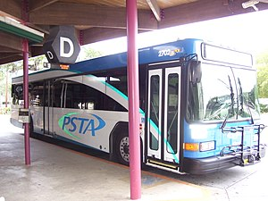 Pinellas Suncoast Transit Authority - Image: PSTA bus 2702