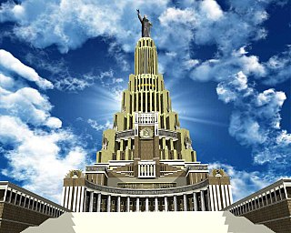 Palace of the Soviets Planned governmental building in Moscow, 1930s