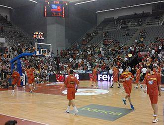 Palacio Municipal de Deportes de Granada - Image: Palacio de deportes de Granada