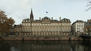 House of Rohan - Palais Rohan in Strasbourg, Alsace (completed in 1742)