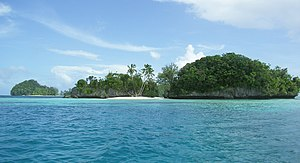 Rock Islands in Palau.
